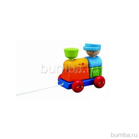 Развивающая игрушка PlanToys Сортер Поезд