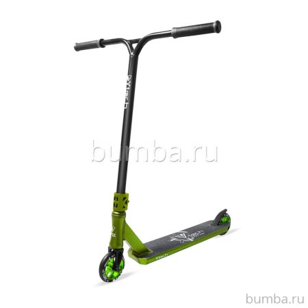 Трюковый самокат FOX V-Tech 01 2018 (темно-зеленый)