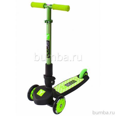 Самокат Y-Scoo Trio Maxi 120 (green)