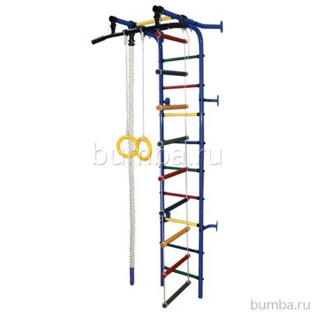Детский спортивный комплекс Формула Здоровья Жирафик-1А Плюс (синий)