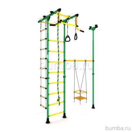 Детский спортивный комплекс Карусель R33 (зелено-желтый)