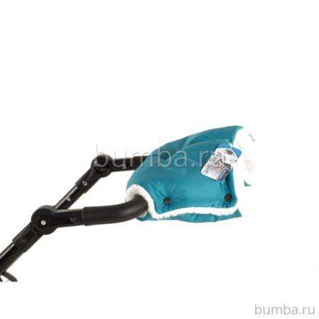 Флисовая муфта для коляски NoordLine Mommy Aqua