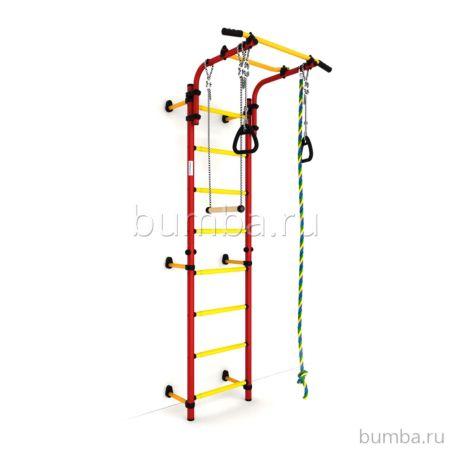 Детский спортивный комплекс Карусель Комета next 1 (красно-желтый)