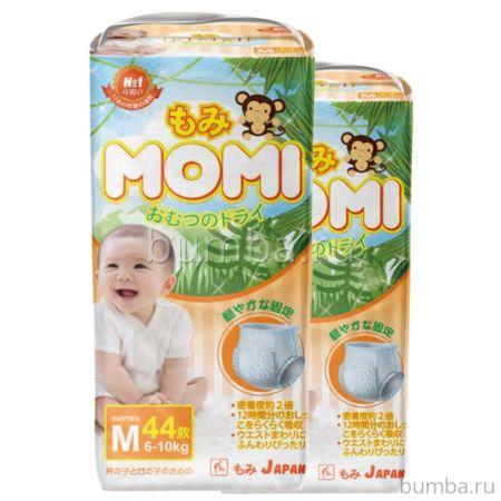 Подгузники-трусики Momi M (6-10 кг) 44 шт.