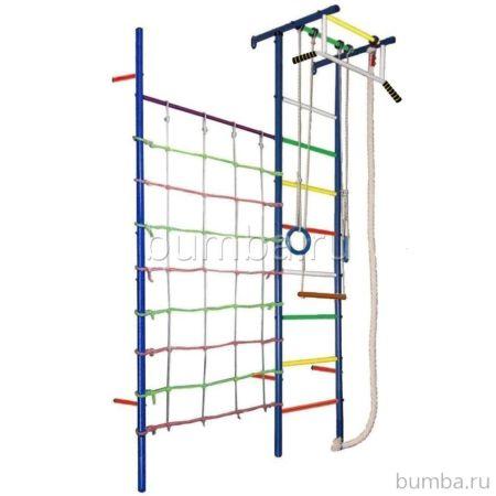 Детский спортивный комплекс Вертикаль Юнга 4.1 (мягкие ступени)
