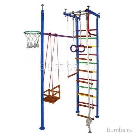 Детский спортивный комплекс Вертикаль 10 (мягкие ступени)