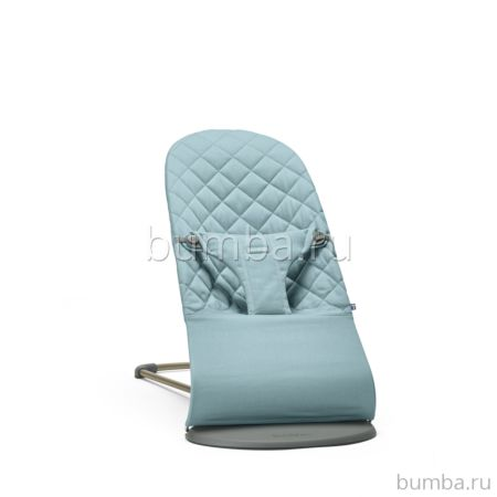 Кресло-шезлонг BabyBjorn Bliss Cotton Be You (Бирюзовый)