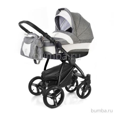 Коляска 2 в 1 Esspero Newborn Lux Black Denim