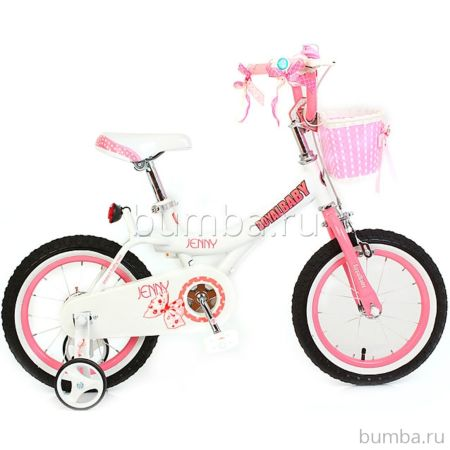 Детский велосипед Royal Baby Princess Jenny Girl Steel 16""