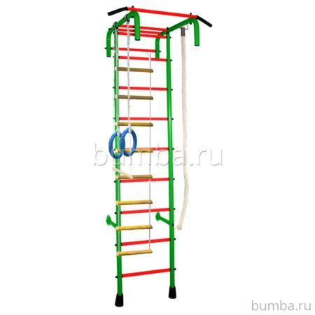 Детский спортивный комплекс Альпинистик 4 ПВХ (салатовый)