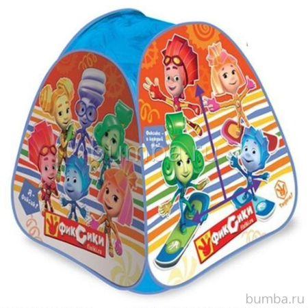 Детская палатка Играем Вместе треугольная Фиксики