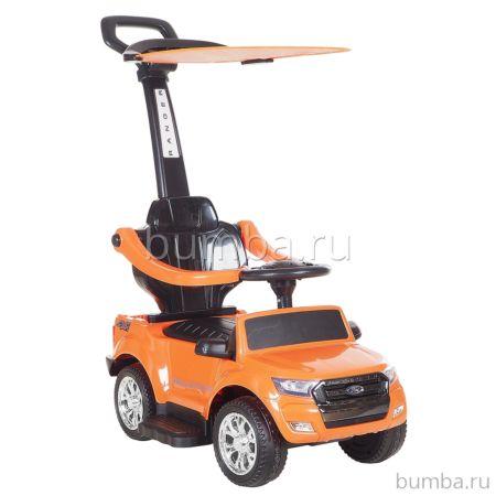 Каталка Ford Ranger с козырьком (оранжевая)