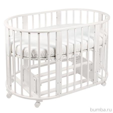 Кроватка-трансформер Sweet Baby Kassandra Bianko (поперечный маятник)