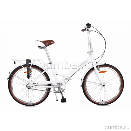 Велосипед складной Shulz Krabi Coaster (2017) белый