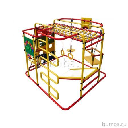 Детский спортивный комплекс Формула Здоровья Мурзилка S (красный)
