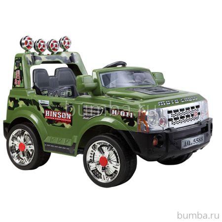 Электромобиль TjaGo 139YJ с пультом управления (зеленый)
