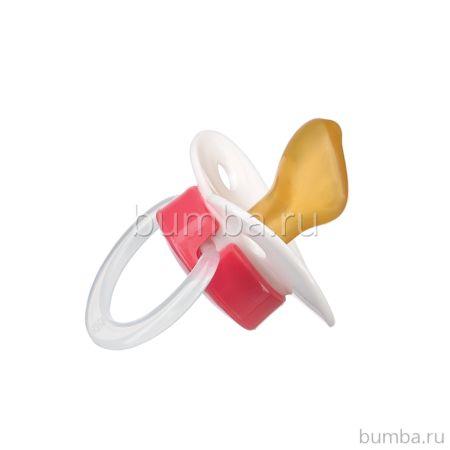 Пустышка Happy Baby Latex Pacifier (0-12 мес.) (red)