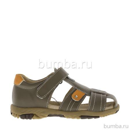 Сандалии детские Kakadu 6102A для мальчиков (коричневые)