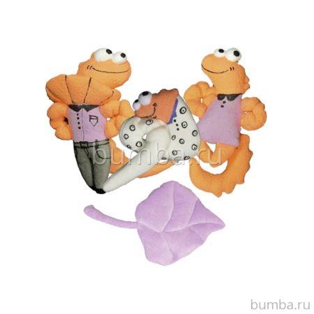 Комплект мягких игрушек на комод Papaloni Шутки Игуан