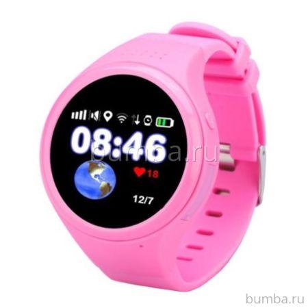 Детские часы с GPS-трекером Wochi Zoomix (розовый)
