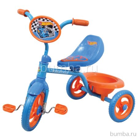 Трехколесный велосипед 1Toy Hot Wheels