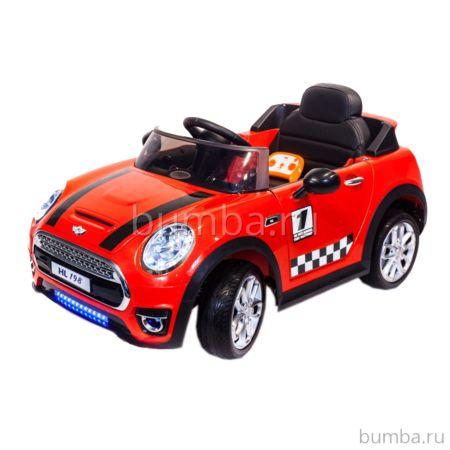 Электромобиль ToyLand Mini Cooper HL198 (красный)