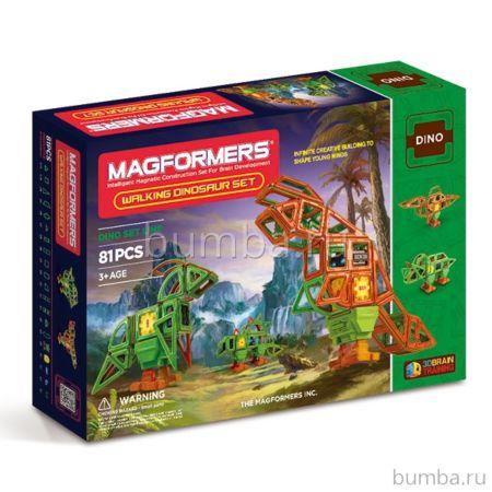 Конструктор Magformers Walking Dinosaurs Set