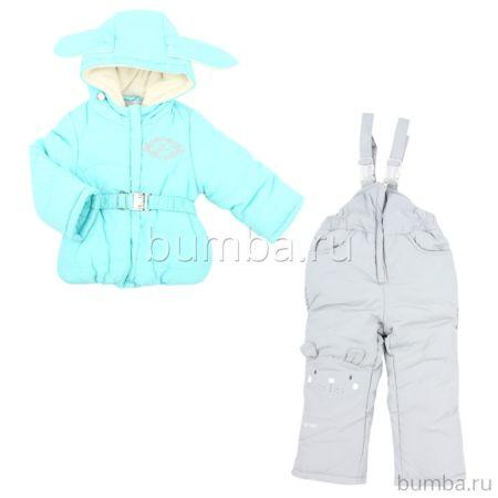 Куртка с полукомбинезоном зимние Fun Time BKF1718M
