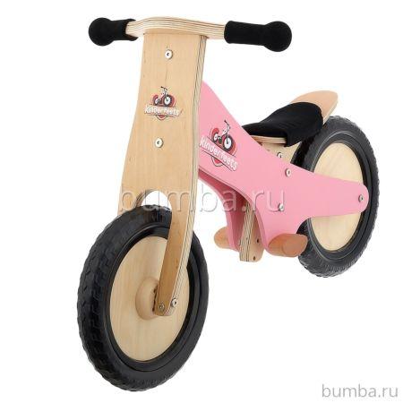 Беговел Kinderfeets Classic (розовый)