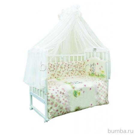 Комплект постельного белья Sweet Baby Senza Beige (7 предметов, сатин)