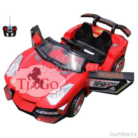 Электромобиль TjaGo 2117 с пультом управления (красный)