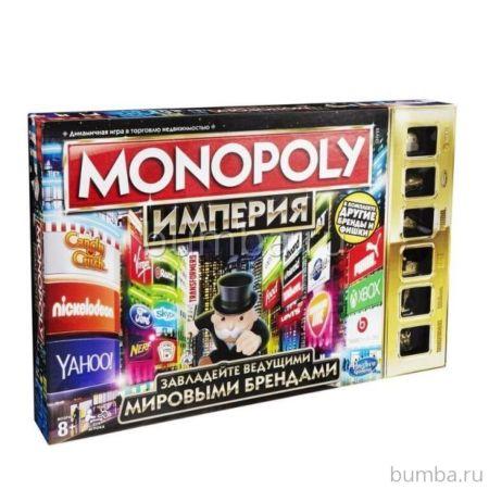 Настольная игра Hasbro Games Монополия Империя (обновленная)