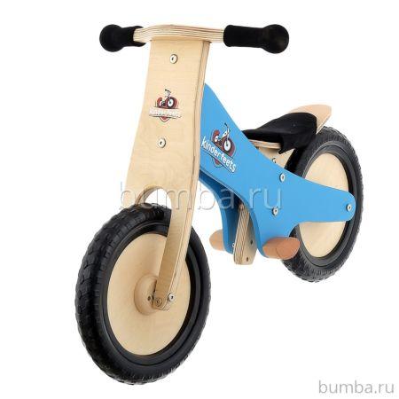 Беговел Kinderfeets Classic (синий) ДИСКОНТ