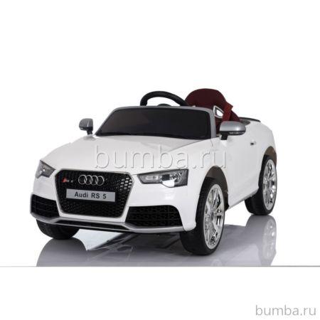Электромобиль Coolcars Audi RS5 с зонтиком (белый)