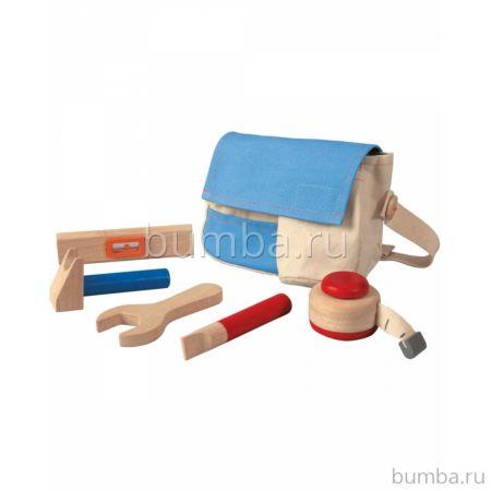 Деревянный набор PlanToys Набор инструментов