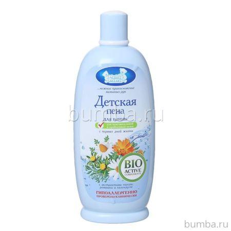 Пена для ванны Наша мама для чувствительной и проблемной кожи 500 мл