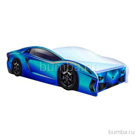 Кровать-машина Кроватка5 Ламбо (голубая)