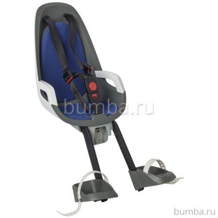 Велокресло на руль Hamax Caress Observer до 15 кг (Серый/Белый/Синий)