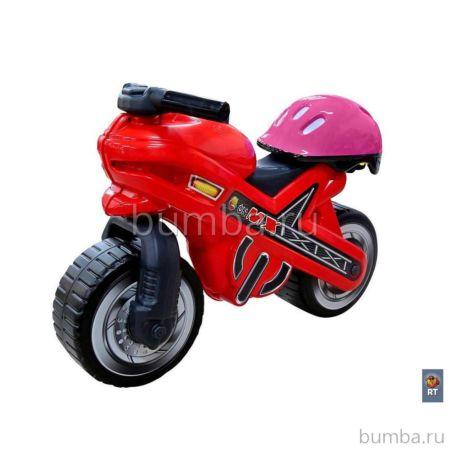 Мотоцикл-каталка Coloma Moto MX со шлемом