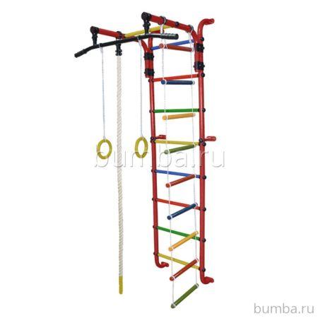 Детский спортивный комплекс Формула Здоровья Сигма-1А Плюс (красный)