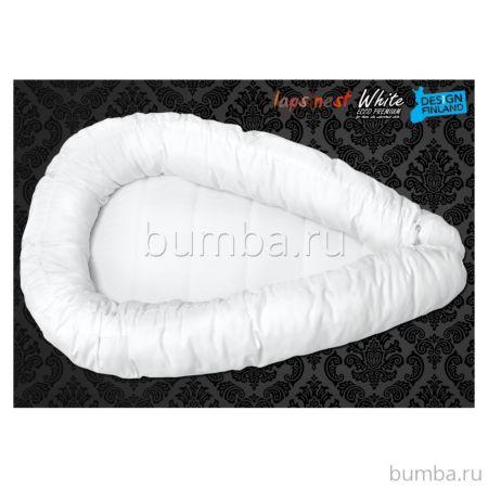 Подушка-гнездо Futurmama J1 Ecco Premium White