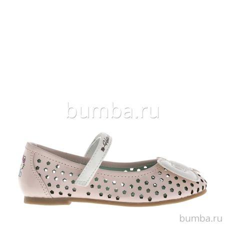 Туфли детские Hello Kitty 6030B для девочек (розовые)