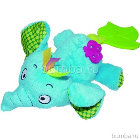 Развивающая игрушка Biba Toys JF948 Слон (бирюзовый)