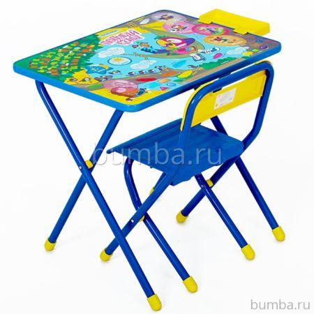 Комплект детской мебели Дэми Попугай Кеша (Синий)