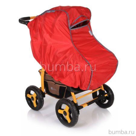 Дождевик для коляски Baby Care Junior (красный)