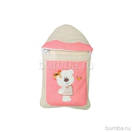 Комплект на выписку демисезонный Alis Мишки-шалунишки (8 предметов) (розовый)