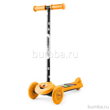 Кикборд Small Rider Cosmic Zoo Scooter (оранжевый)