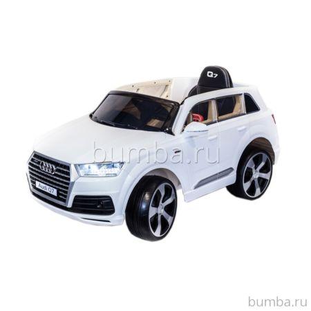 Электромобиль ToyLand Audi Q7 высокая дверь (белый)