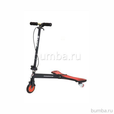 Инерционный самокат Razor Powerwing (черный)