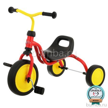 """Трехколесный велосипед Puky Fitsch с ПВХ-колесами 9"""" и 7"""" (red)"""
